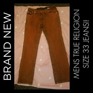 MENS NEW TRUE RELIGION JEANS